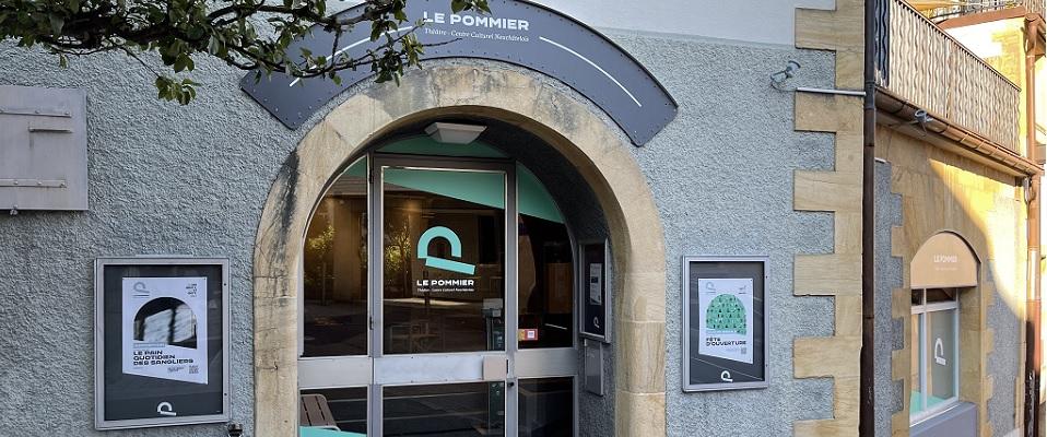 Le Pommier Théâtre - Centre Culturel Neuchâtelois