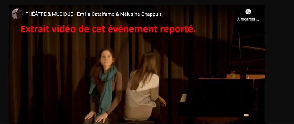 Emilia Catalfamo & Mélusine Chappuis