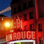 Moulin-Rouge by night