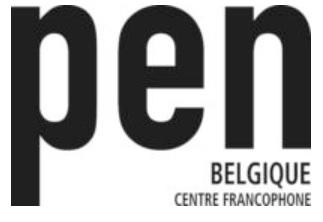 Logo du PEN Club BE