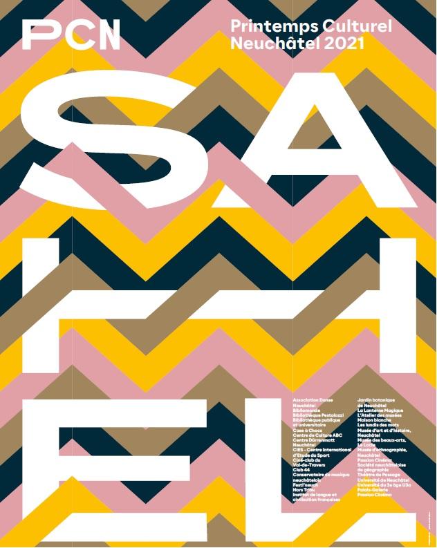 Affiche Printemps Culturel Neuchâtel