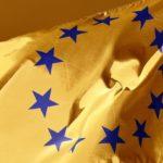 Drapeau EU doré