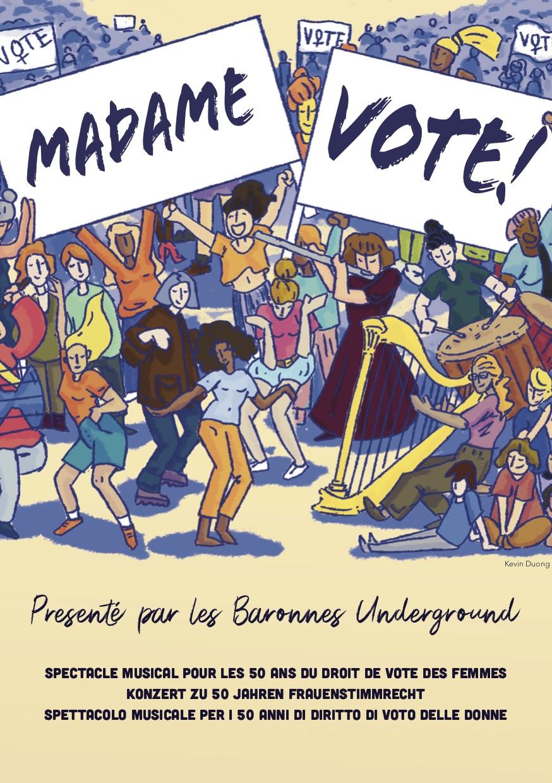 Madame vote ! Les Baronnes Underground